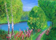 "Картина ""Волшебный лес"""