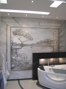 Интерьер ванной в Киеве
