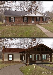 Дом и конюшня в Америке (г.Франклин, Теннесси)