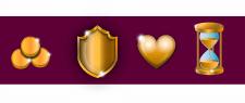 Золотые иконки