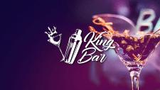 Логотип для выездного бара King Bar