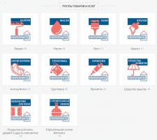 Создание уникальных иконок для групп товаров