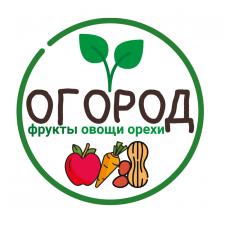 Вывеска продуктового магазина «Огород»