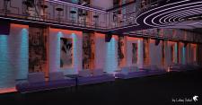 Ночной клуб, эскизное предложение
