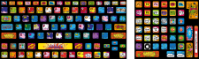 "Keyboard stickers ""POP-ART"""