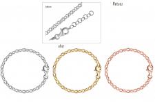 Создание браслета из отдельных элементов