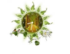 Создание flash - часы на сайт с мелодией