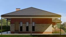 Проект Одноэтажного Частного Дома