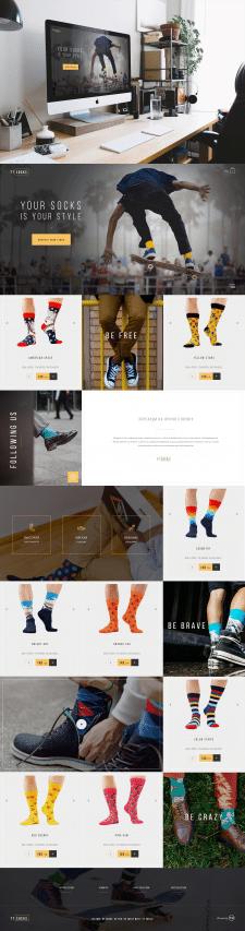 Интернет-магазин носков
