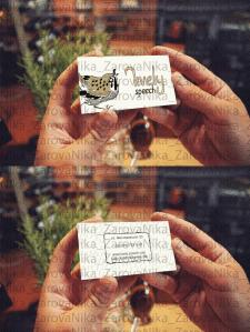 Визуализация визитной карточки
