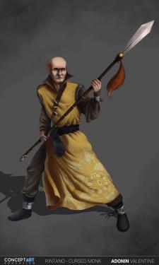 Ритано - проклятый монах