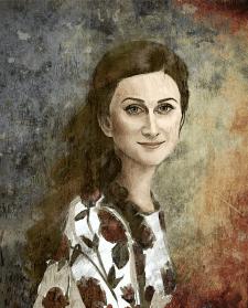 Портрет с последующей обработкой