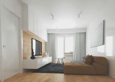 Дизайн гостинной комнаты в Киеве, Оболонь