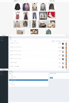 Витрина онлайн-магазина halvashop