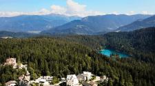 Отрезок свадебного клипа в 4К,  локация Швейцария