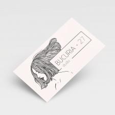 Визитная карточка парикхмахера