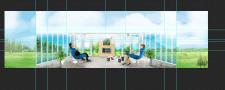 Разработка панорамного фонового изображения