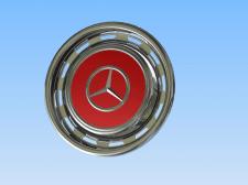 Брелок - копия колпака на колесо Mercedes Benz