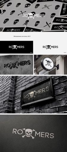 Обновление лого компании Roomers