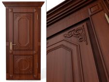 Дизайн и моделирование деревянной двери