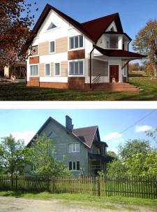 Будинок в селі Рівня