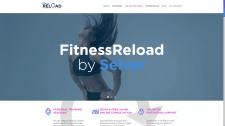 Веб-сайт для фитнес тренера на Wordpress