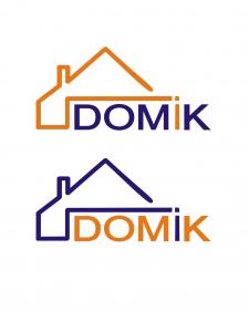 """логотип строительной компании """"ДОМиК"""""""