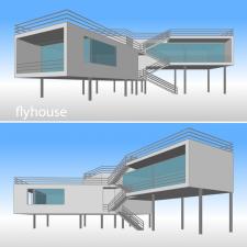 flyhouse - концептуальная модель