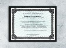 Создание сертификата по примеру заказчика