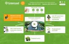 SEO продвижение интернет магазина greensad.ua