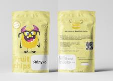 Дизайн дой пака для фруктовых чипсов