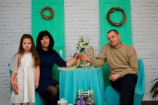 """Семейная фотосъемка в студии """"SunCity"""""""