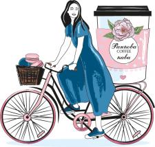 Векторная иллюстрация для кафе