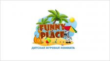 Логотип детского центра Funny Place