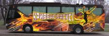 Автобус для БК Кривбасбаскет