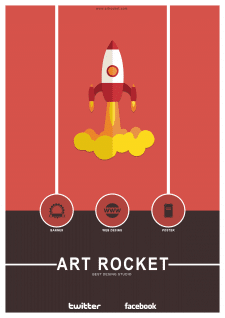 art rocket