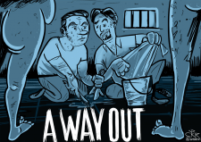 Карикатура к игре