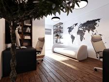3D моделирование и визуализация кабинета