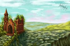 Иллюстрация пейзажа