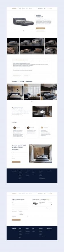 Сайт мебельной компании 2
