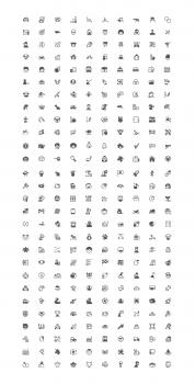 Иконки (280шт) для категорий сайта с брауз. играми