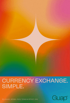 Постер для обменника валют