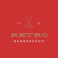 """Логотип для парикмахерской """"Retro"""""""
