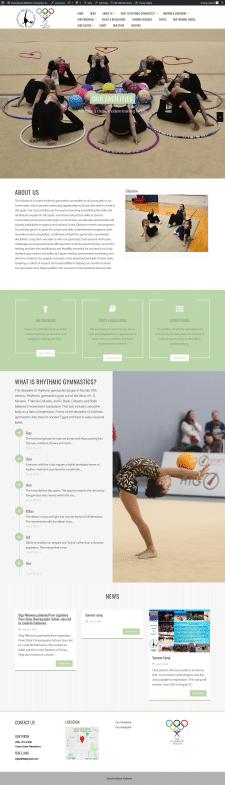 Разработка сайта под ключ для  IRG BALLET
