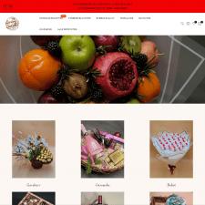 Shopify интернет-магазин Laekrebuketter.dk