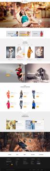 Дизайн сайта интернет-магазина женской одежды