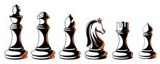 векторная графика.игровые елементы. логотип.