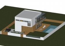 Сучасний ,невеликий, житловий , приватний  будинок