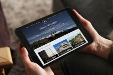 Макет сайта туристической компании visual