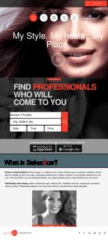 Верстка соц-сервиса Salon2Us